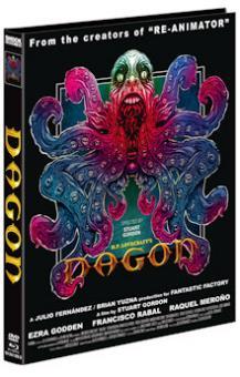 Dagon (Limited Mediabook, Blu-ray+DVD, Cover B) (2001) [FSK 18] [Blu-ray]