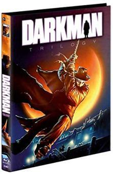 Darkman Trilogy (Limited Mediabook, 4 Discs, Cover C) [FSK 18] [Blu-ray]