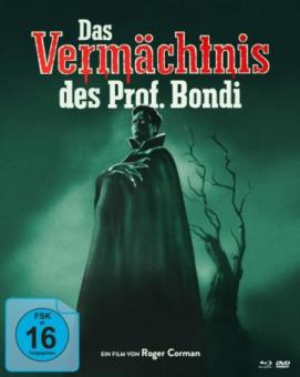 Das Vermächtnis des Prof. Bondi (Limited Mediabook, 2 Blu-ray's+DVD) (1959) [Blu-ray]