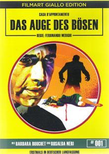 Das Auge des Bösen - Filmart Giallo Edition Nr. 1 (1973) [FSK 18]