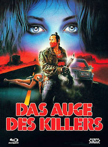 Das Auge des Killers (Limited Mediabook, Blu-ray+DVD, Cover A) (1987) [FSK 18] [Blu-ray]
