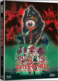 Lucio Fulcis Gates of Hell Trilogie (3 Disc Limited Mediabook, Cover C) [FSK 18] [Blu-ray]