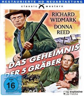 Das Geheimnis der fünf Gräber (1956) [Blu-ray]