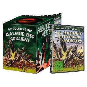 Das Geheimnis des steinernen Monsters - Die Rückkehr der Galerie des Grauens 1 (+ Schuber) (1957)