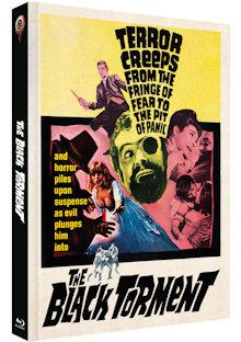 Das Grauen auf Black Torment (Limited Mediabook, Blu-ray+DVD, Cover A) (1964) [Blu-ray]