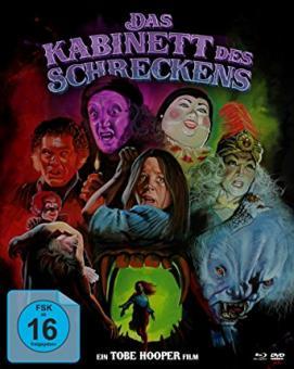 Das Kabinett des Schreckens (3 Disc Limited Mediabook, Blu-ray+2 DVDs) (1981) [Blu-ray]