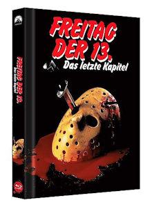 Freitag der 13. Teil 4 (Limited Collector's Edition Mediabook, Cover B) (1984) [FSK 18] [Blu-ray]