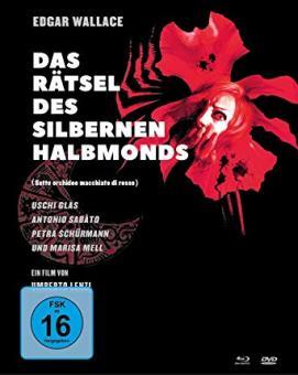 Edgar Wallace: Das Rätsel des silbernen Halbmonds (Limited Mediabook, Blu-ray+2 DVDs) (1972) [Blu-ray]