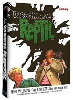 Das Schwarze Reptil (Limited Mediabook, Cover A) (1966) [Blu-ray]