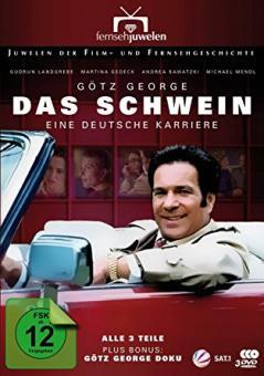 Das Schwein - Eine deutsche Karriere (plus Bonus: Götz George Doku) (2 DVDs) [Gebraucht - Zustand (Sehr Gut)]