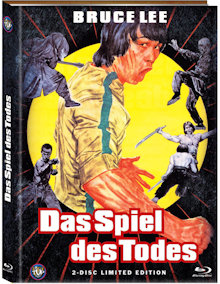 Bruce Lee - Das Spiel des Todes (Limited Mediabook, Blu-ray+DVD, Cover A) (1978) [FSK 18] [Blu-ray]