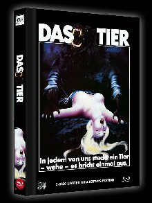 The Howling - Das Tier (3 Disc Limited Mediabook, Blu-ray+DVD, Cover B) (1981) [Blu-ray]