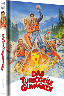 Das turbogeile Gummiboot - Up the Creek (Limited Mediabook, Blu-ray+DVD, Cover A) (1984) [Blu-ray]