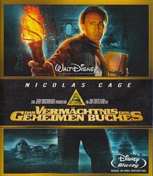 Das Vermächtnis des geheimen Buches (2007) [Blu-ray]