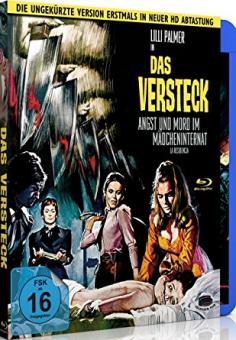 Das Versteck - Angst und Mord im Mädcheninternat (1969) [Blu-ray] [Gebraucht - Zustand (Sehr Gut)]