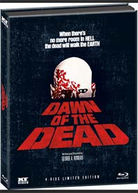 Dawn Of The Dead (4 Discs Limited Mediabook mit 4 Schnittfassungen) (1978) [FSK 18] [Blu-ray]