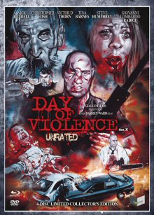 Day of Violence (4 Disc Limited Edition, Blu-ray+DVD, Cover A) (2009) [FSK 18] [Blu-ray]