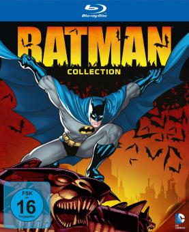 DC Universe Batman Collection (Limited Edition, 9 Discs) [Blu-ray]