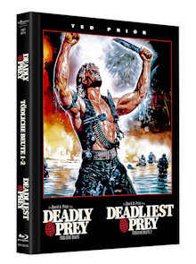 Deadly Prey 1+2 (Limited Mediabook, Blu-ray+DVD) (1987) [FSK 18] [Blu-ray]