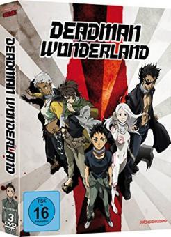 Deadman Wonderland (3 DVDs) [Gebraucht - Zustand (Sehr Gut)]