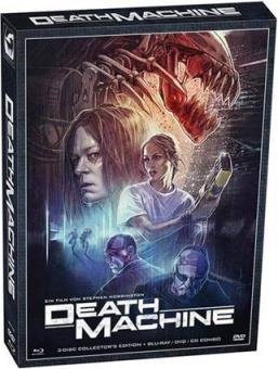 Death Machine (Uncut, 3 Disc Limited Digipak, Blu-ray+DVD+CD) (1994) [FSK 18] [Blu-ray]