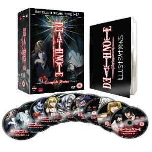 Death Note (Complete Box Set, 9 DVDs) [UK Import]