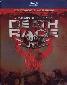 Death Race (Extended Version, Steelbook) (2008) [FSK 18] [Blu-ray]