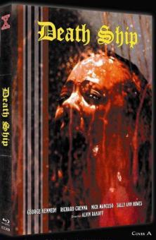 Death Ship (Limited Mediabook, Blu-ray+DVD, Cover A) (1980) [FSK 18] [Blu-ray]