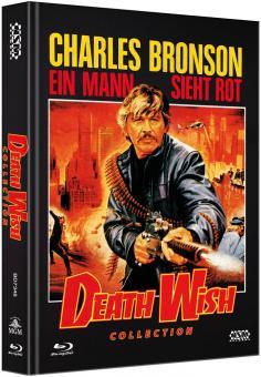 Death Wish 1-5 (Limited Mediabook, 5 Discs) [FSK 18] [Blu-ray]