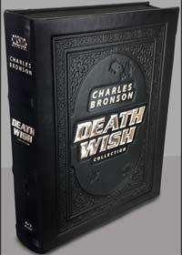 Death Wish 1-5 (Limited Leatherbook+Mediabook, 5 Discs) [FSK 18] [Blu-ray]