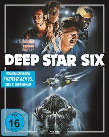 Deep Star Six (Limited Mediabook, Blu-ray+DVD, Cover A) (1989) [Blu-ray]