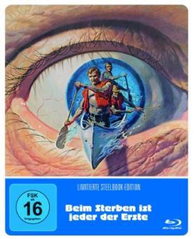 Beim Sterben ist jeder der Erste (Limited Steelbook) (1972) [Blu-ray]