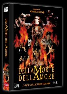 Dellamorte Dellamore (Mediabook, Blu-ray+DVD, Limitiert auf 500 Stück, inkl. Soundtrack CD) (1994) [FSK 18] [Blu-ray] [Gebraucht - Zustand (Sehr Gut)]