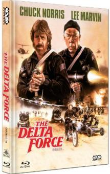 Delta Force (Limited Mediabook, Blu-ray+DVD, Cover A) (1986) [Blu-ray]
