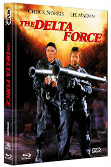 Delta Force (Limited Mediabook, Blu-ray+DVD, Cover B) (1986) [Blu-ray]