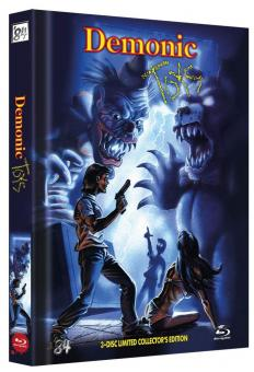 Demonic Toys (Limited Mediabook, Blu-ray+2 DVDs, Cover C) (1992) [FSK 18] [Blu-ray]