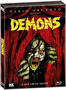 Dämonen 2 - Dance of the Demons 1 (Limited Wattiertes Mediabook, Blu-ray+DVD) (1985) [FSK 18] [Blu-ray]