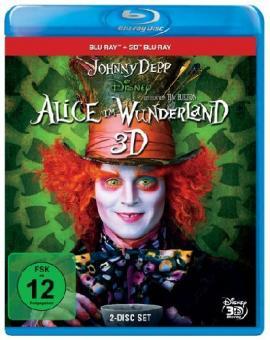 Alice im Wunderland (Blu-ray+3D Blu-ray) (2009) [3D Blu-ray]