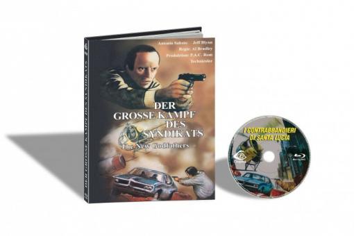 Der Grosse Kampf des Syndikats (Limited Mediabook, Cover B) (1979) [FSK 18] [Blu-ray]