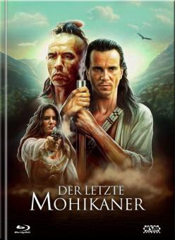 Der letzte Mohikaner (Limited Mediabook, 3 Blu-ray's+DVD, Cover B) (1992) [Blu-ray]