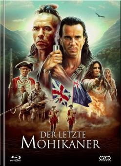 Der letzte Mohikaner (Limited Mediabook, 3 Blu-ray's+DVD, Cover C) (1992) [Blu-ray]