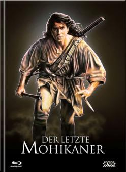 Der letzte Mohikaner (Limited Mediabook, 3 Blu-ray's+DVD, Cover D) (1992) [Blu-ray]
