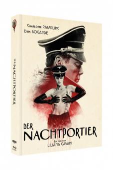 Der Nachtportier (3 Disc Limited Mediabook, 4K Ultra HD+Blu-ray+DVD, Cover A) (1974) [4K Ultra HD]