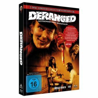 Deranged - Geständnis eines Necrophilen (Limited Mediabook, Blu-ray+DVD, Cover C) (1974) [Blu-ray]