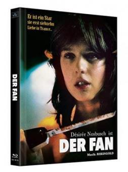 Der Fan (2 Disc Limited Mediabook, Cover D) (1982) [FSK 18] [Blu-ray]