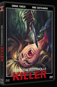 Nackt für den Killer (Limited Mediabook Edition, Blu-ray+DVD, Cover B) (1975) [FSK 18] [Blu-ray]