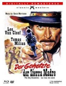 Der Gehetzte der Sierra Madre (3 Disc Limited Mediabook, DVD+Blu-ray) (1966) [Blu-ray]