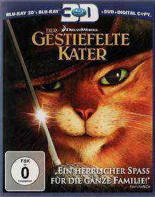 Der Gestiefelte Kater (3D Blu-ray+Blu-ray+DVD+Digital Copy) (2011) [3D Blu-ray]