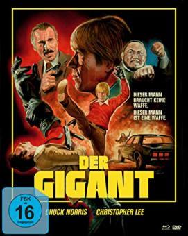Der Gigant (Limited Mediabook, Blu-ray+DVD, Cover A) (1981) [Blu-ray]
