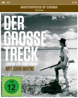 Der große Treck (Mediabook Edition, DVD+Blu-ray) (1930) [Blu-ray]